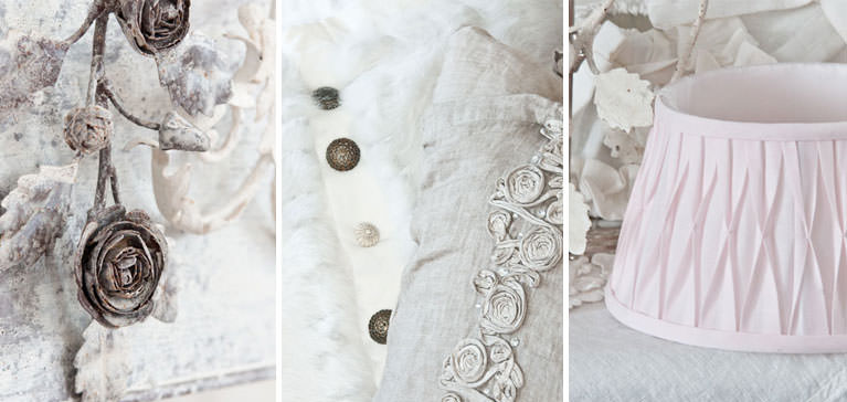 Tapeten Vintage Shabby Chic : Landhausstoffe, Toile de Jouy, Shabby Chic, French Country