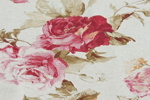 Rosenstoff Romantic Rose sand