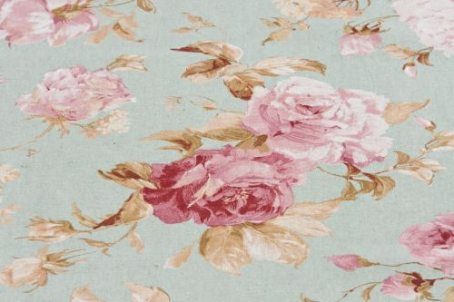 Rosenstoff Romantic Rose bleu